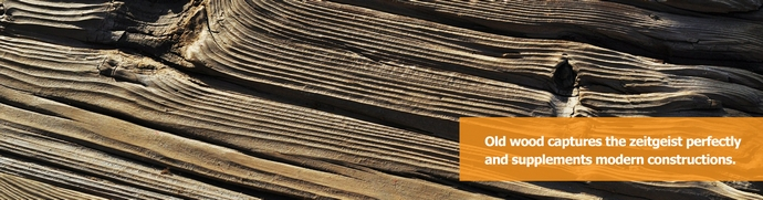 Building materials - Old wood